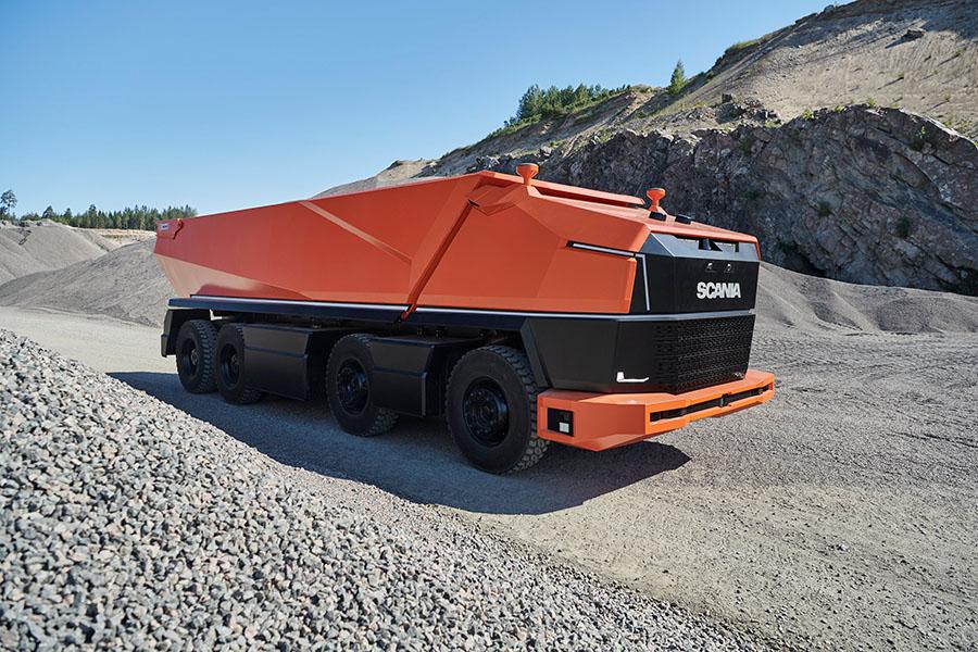 Scania lança primeiro caminhão totalmente autônomo sem cabine 2