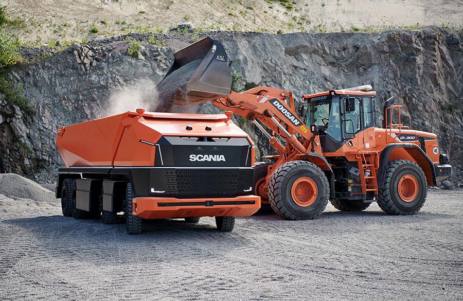 Scania lança primeiro caminhão totalmente autônomo sem cabine 3
