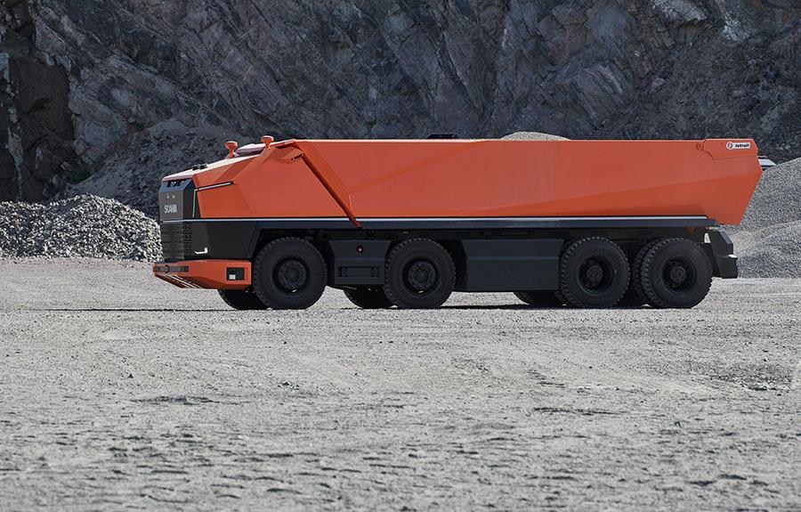 Scania lança primeiro caminhão totalmente autônomo sem cabine 4