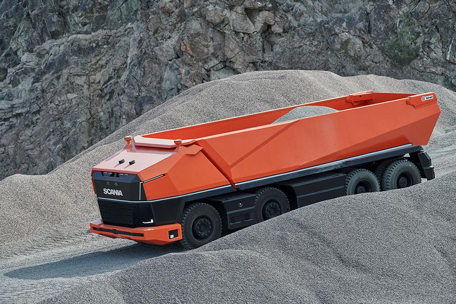 Scania lança primeiro caminhão totalmente autônomo sem cabine 5