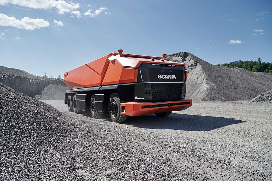 Scania lança primeiro caminhão totalmente autônomo sem cabine 7