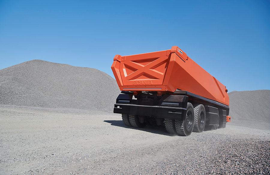 Scania lança primeiro caminhão totalmente autônomo sem cabine 8