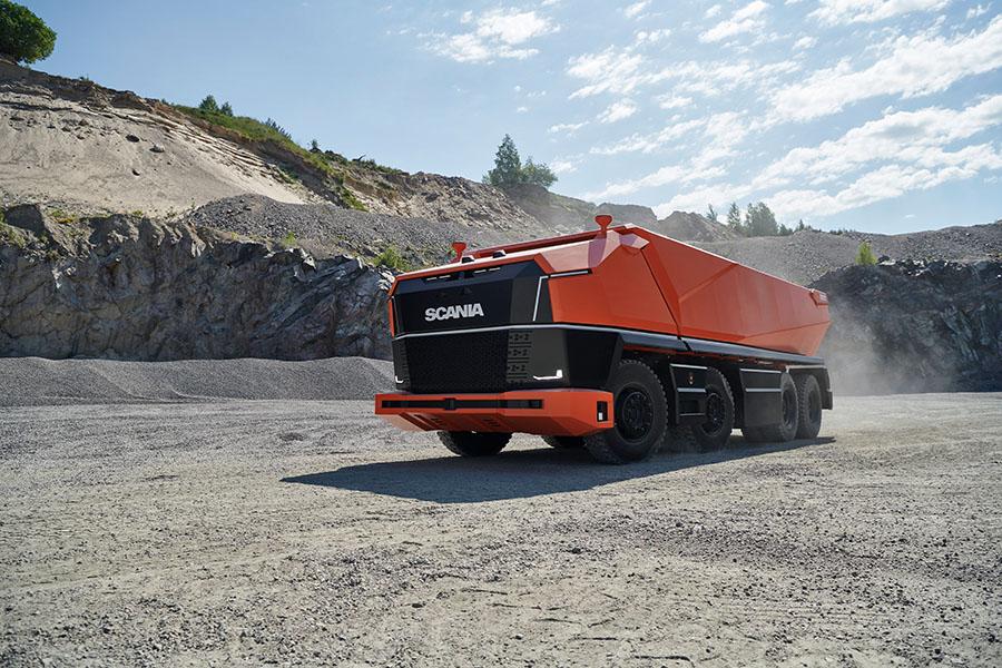 Scania lança primeiro caminhão totalmente autônomo sem cabine 9