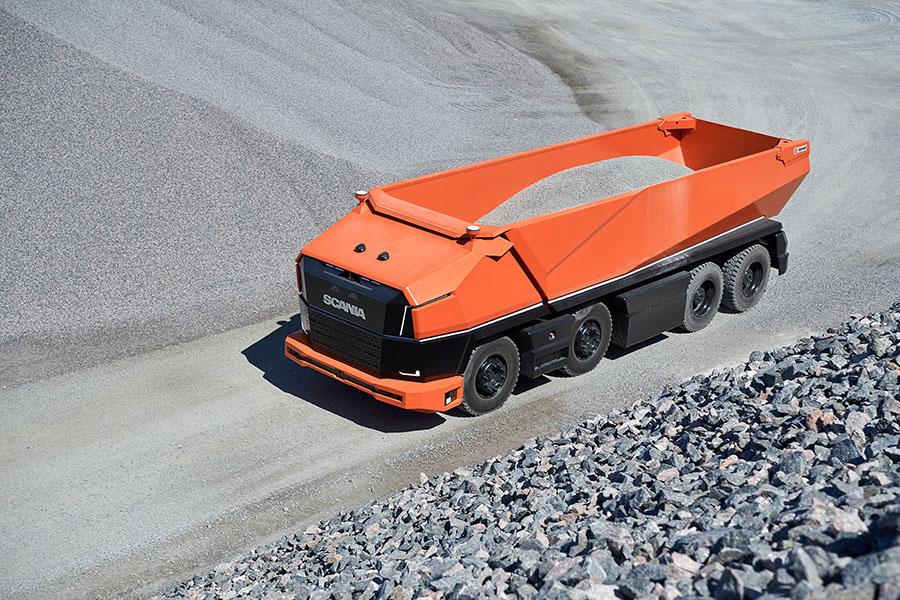 Scania lança primeiro caminhão totalmente autônomo sem cabine 10