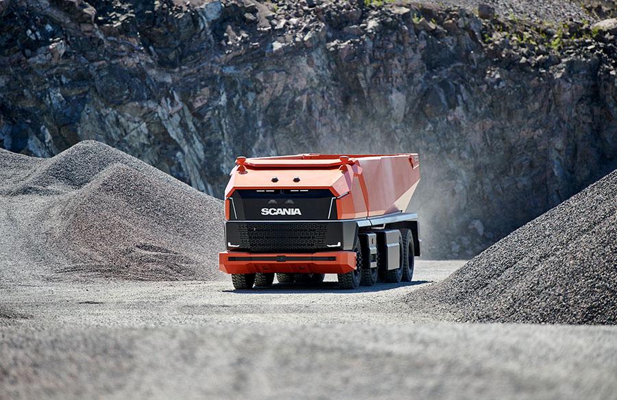 Scania lança primeiro caminhão totalmente autônomo sem cabine 11