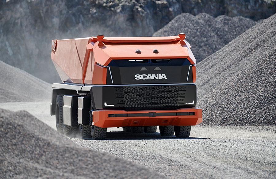 Scania lança primeiro caminhão totalmente autônomo sem cabine 12