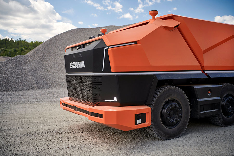 Scania lança primeiro caminhão totalmente autônomo sem cabine 15