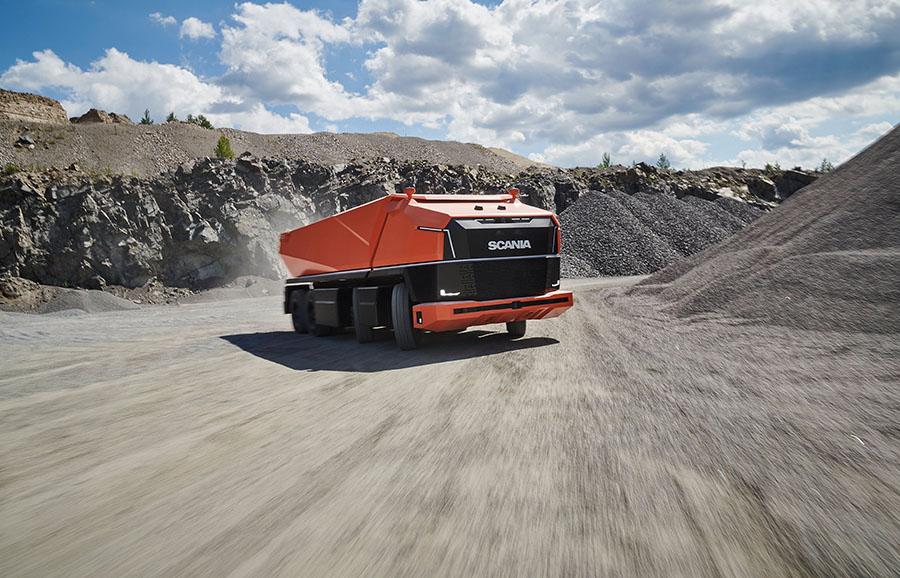 Scania lança primeiro caminhão totalmente autônomo sem cabine 17