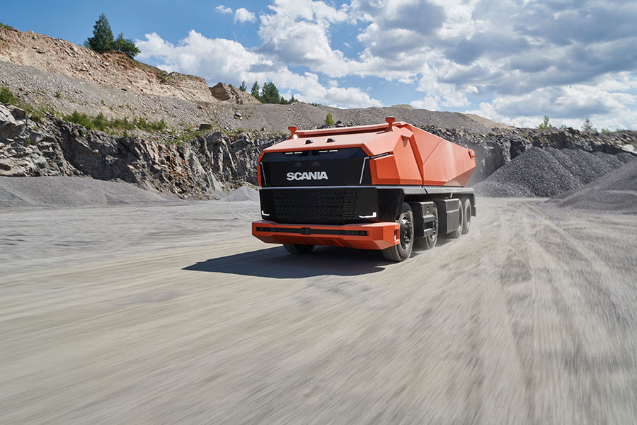 Scania lança primeiro caminhão totalmente autônomo sem cabine 18