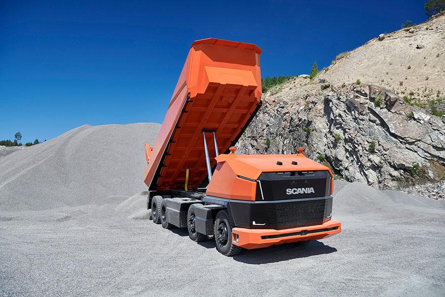 Scania lança primeiro caminhão totalmente autônomo sem cabine 19