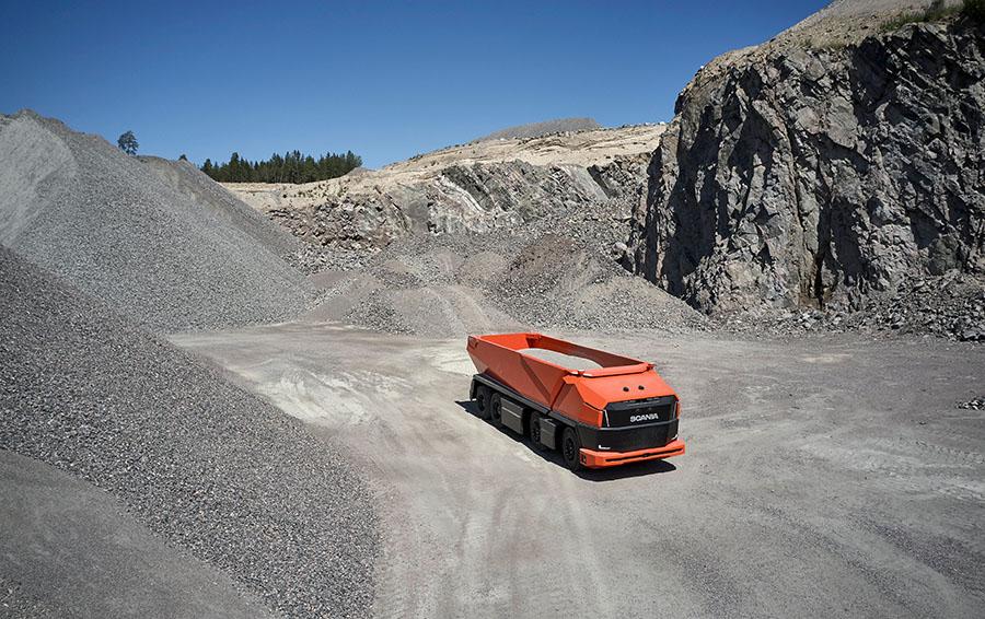 Scania lança primeiro caminhão totalmente autônomo sem cabine 22