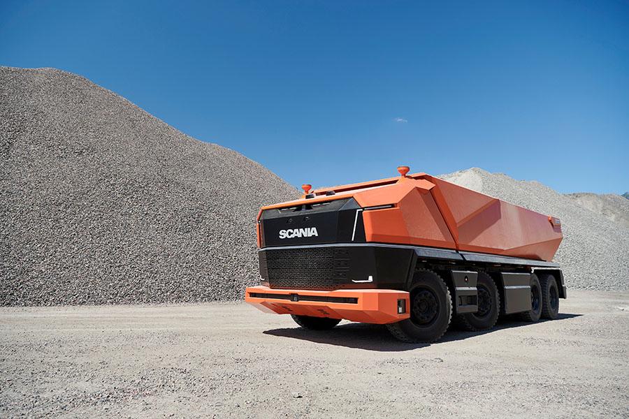 Scania lança primeiro caminhão totalmente autônomo sem cabine 1