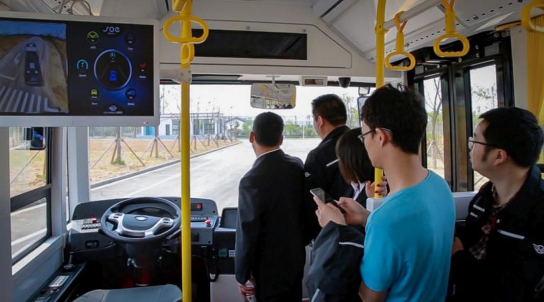 Ônibus sem motorista? Já é realidade em Curitiba